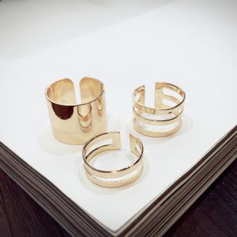 Masuknya orang kepribadian atmosfer versi Jepang dan Korea dari sepuluh set cincin OE427OTAARAKMNANID-60987309 Taobao
