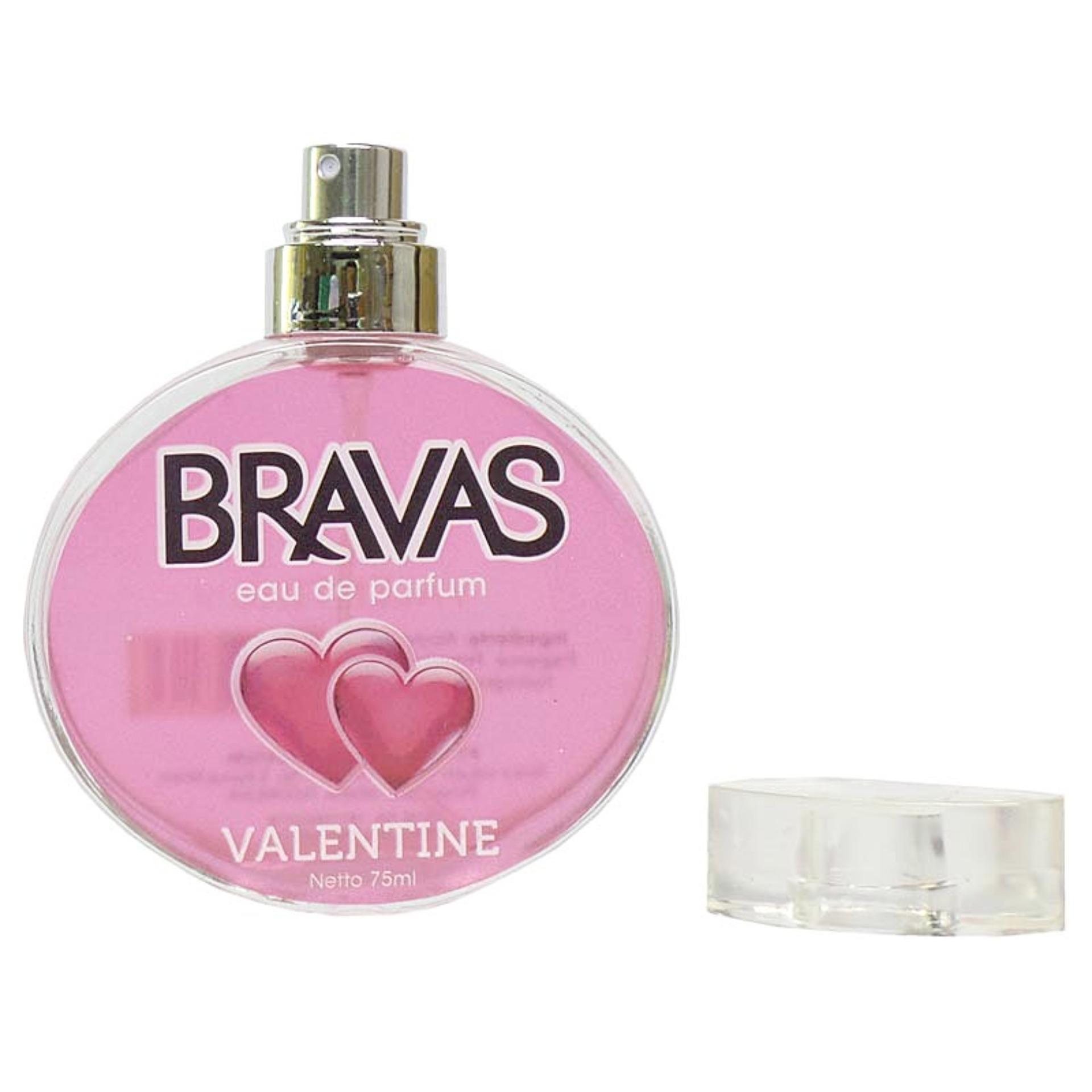 Parfum BRASOV Fresh original Eau De Parfum 50 ml perfume cologne Merah. Source · BRAVAS Original Valentine Perfume XX-CT-670132 Eau De Parfum 75 ML - Pink