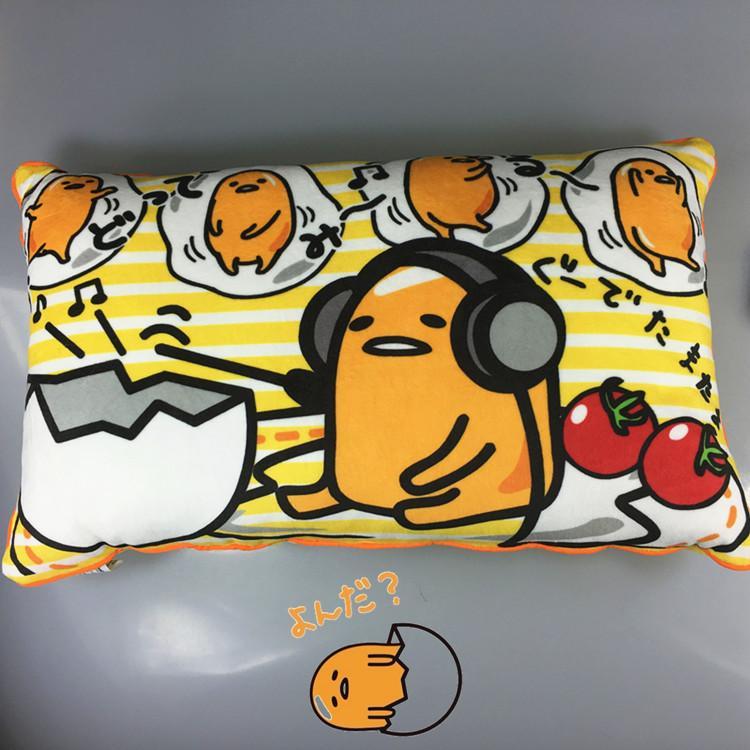 Japan Anime Gudetama gudetama Lazy Egg Laying Hens Yolk King Cartoon Cute da bao zhen throw pillow
