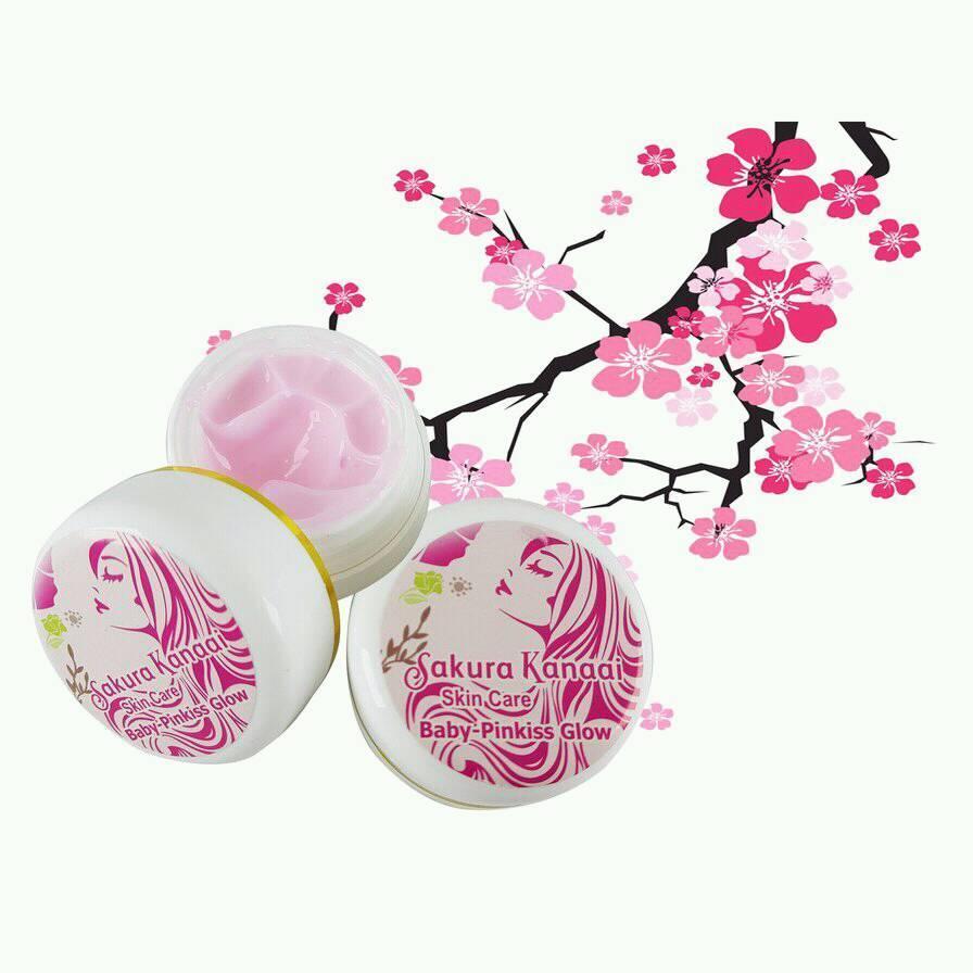 Kesehatan Kecantikan Baby Pink Daftar Harga Kisskozz Be Glow Box Kecil Sakura Kannai Skin Care Pinkiss Cream