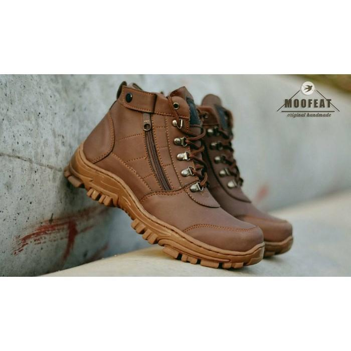 BIG SALE SEPATU BOOTS SAFETY MOOFEAT ELASTICO ORIGINAL