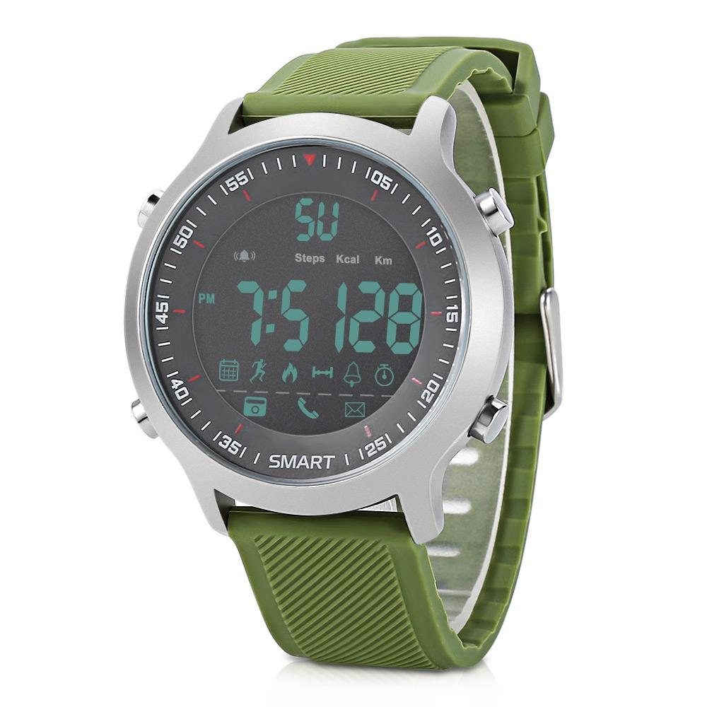 EX18 Bluetooth 4.0 Smart Watch Real-time Activities Tracker Sports Wristwatch