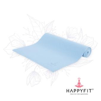 ... HAPPYFIT MATRAS YOGA TERMURAH GRATIS TAS PVC YOGA MAT 6MM BLUE