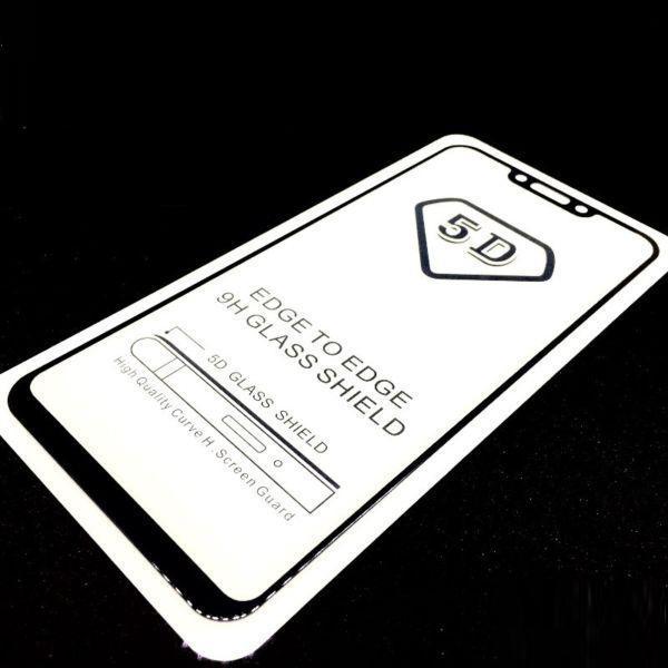 Detail Gambar Tempered Glass 5D Full Cover Warna / Anti Gores Kaca Full Lem Untuk Huawei nova 3i - Black Terbaru