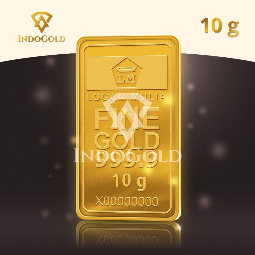 Gold Antam Emas Logam Mulia 10 Gram Lazada Indonesia
