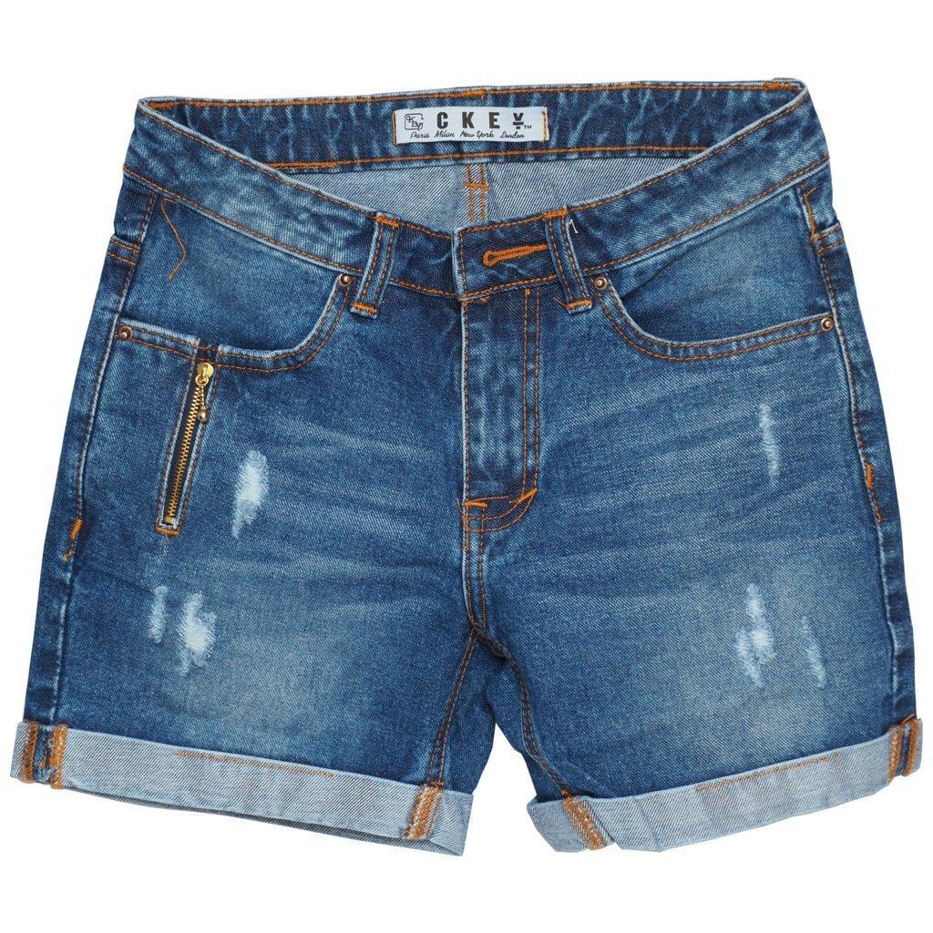 Ckey Ori Celana Pendek Wanita HotPants / Hot Pants Ripped Jeans 101