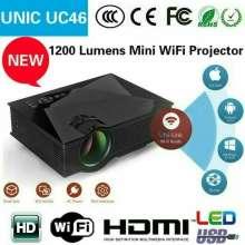 Projector unic uc46 Wifi proyektor hp projektor univ UC 46 smartphone