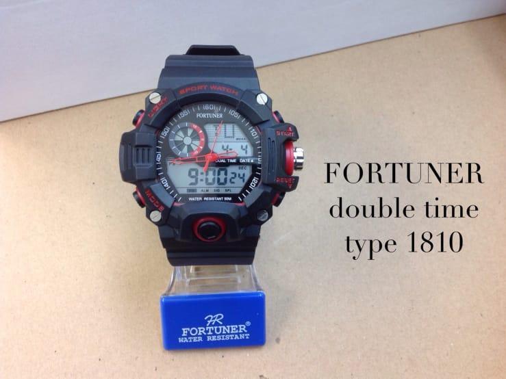 JAM TANGAN WANITA TERBARU-DOUBLE TIME-FORTUNER-FR-3253-A