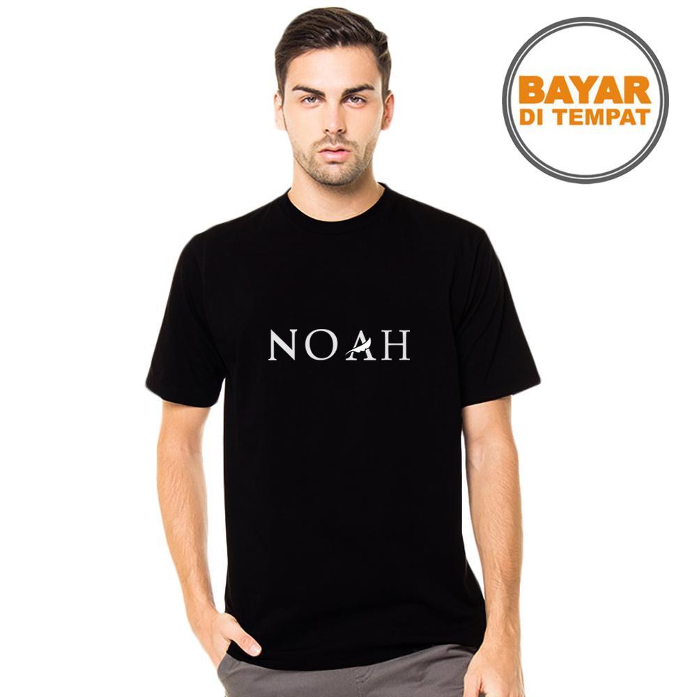 Kaos Pria / Fashion Pria / T-Shirt Pria / Kaos Cowok / Kaos Musisi / Kaos Distro / Kaos polos / Atasan Pria / T-Shirt NOAH BAND | Lazada Indonesia
