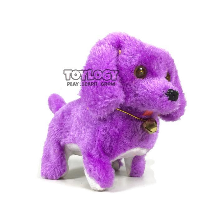 Toylogy Mainan Anak Robot Boneka Anjing Dog Puppy Doll Gerak Suara Lampu - Multicolour