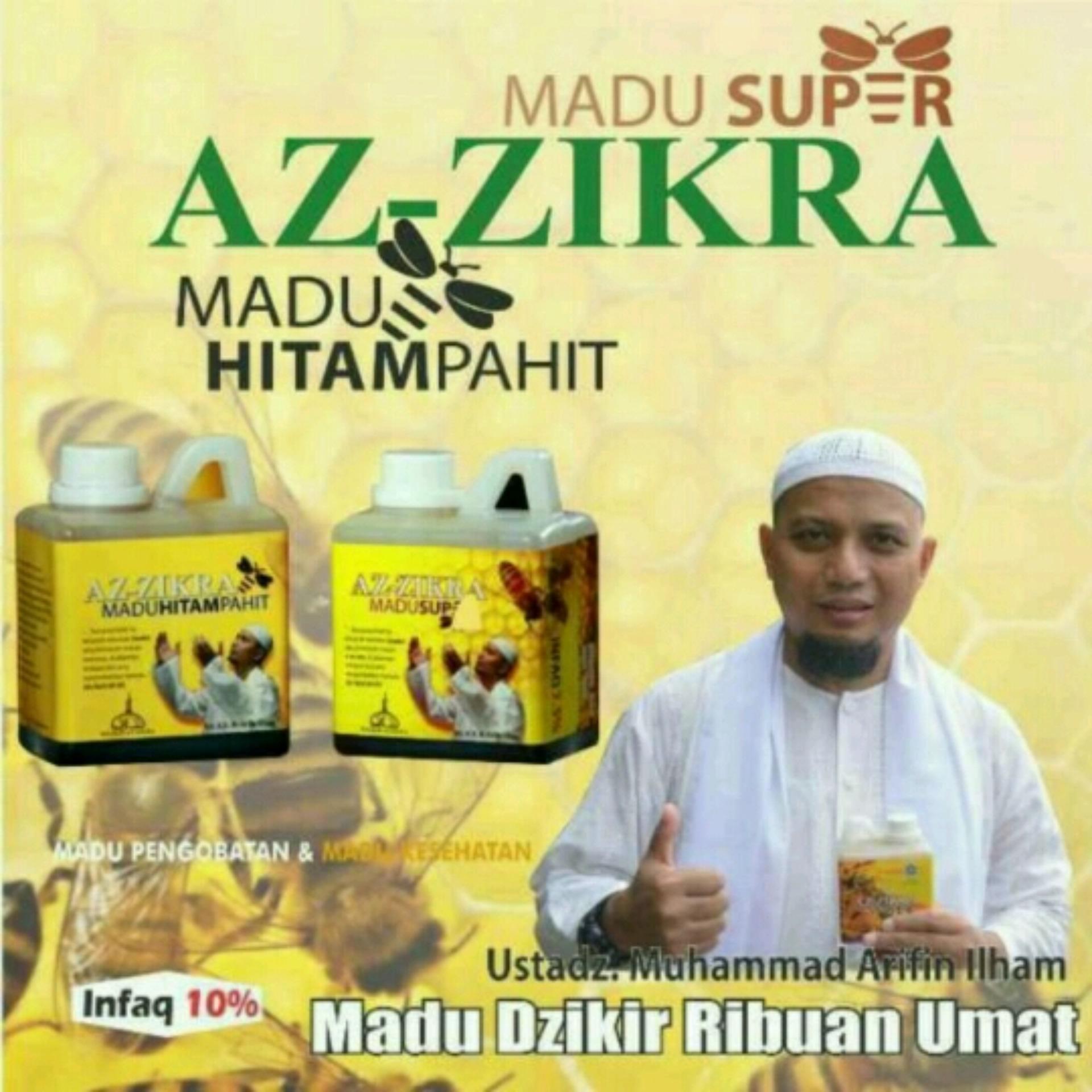 Madu Hitam Pahit Az Zikra Ampuh Atasi Berbagai Penyakit Dan Halal Super Terbaik Ustadz Arifin Lazada Indonesia