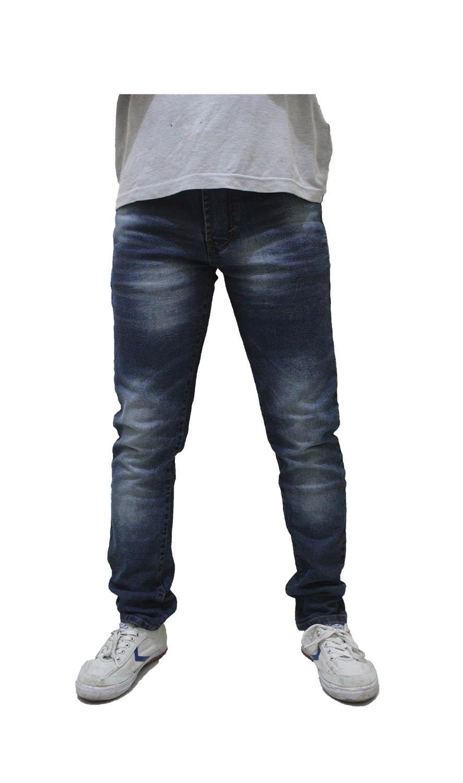 Celana Jeans Pria Sobek Ripped// Strecth Skinny/WARNA COMPLIT/ Celana panjang Pria