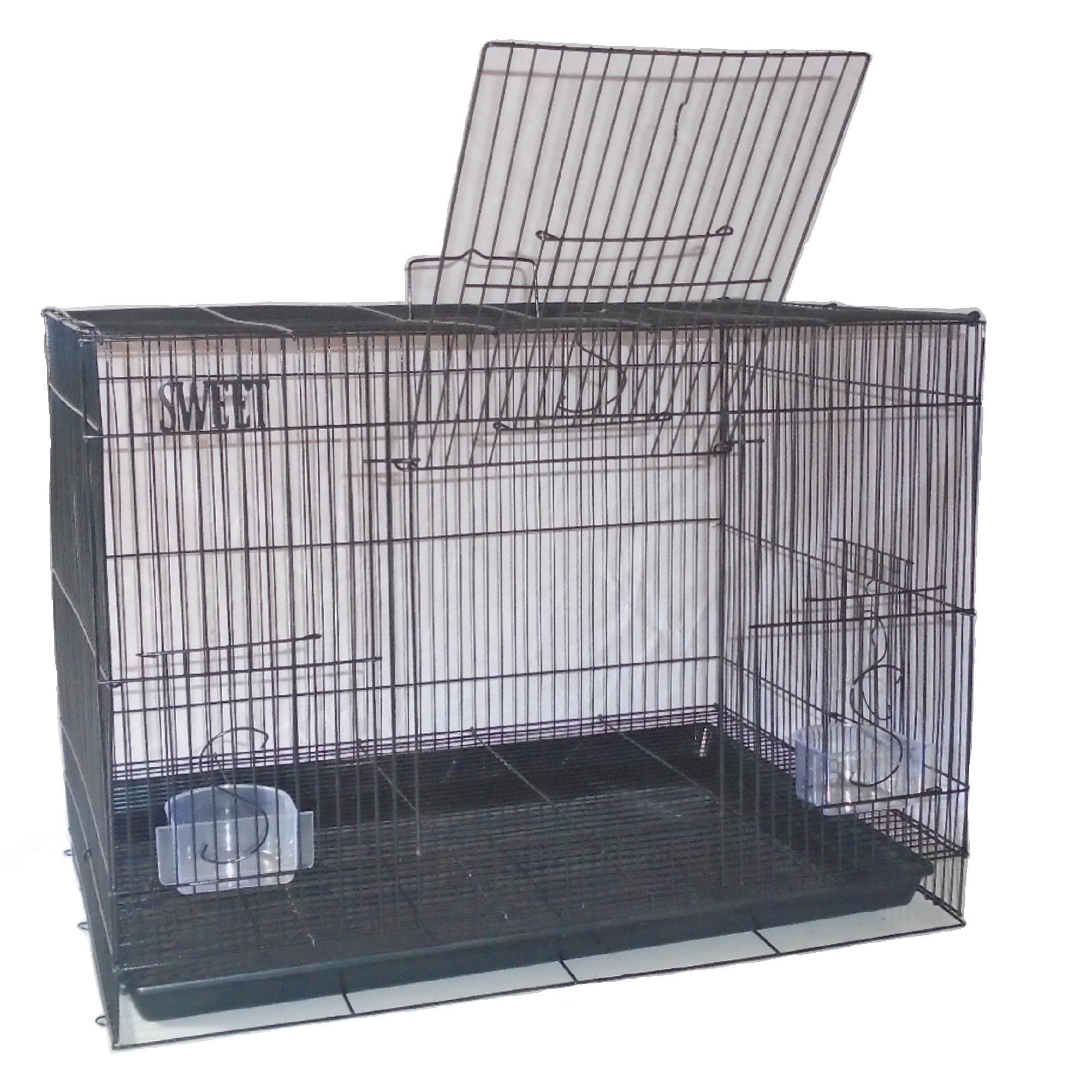 Kandang Burung Kucing Kitten Smart 1 Ungu  749c08266a