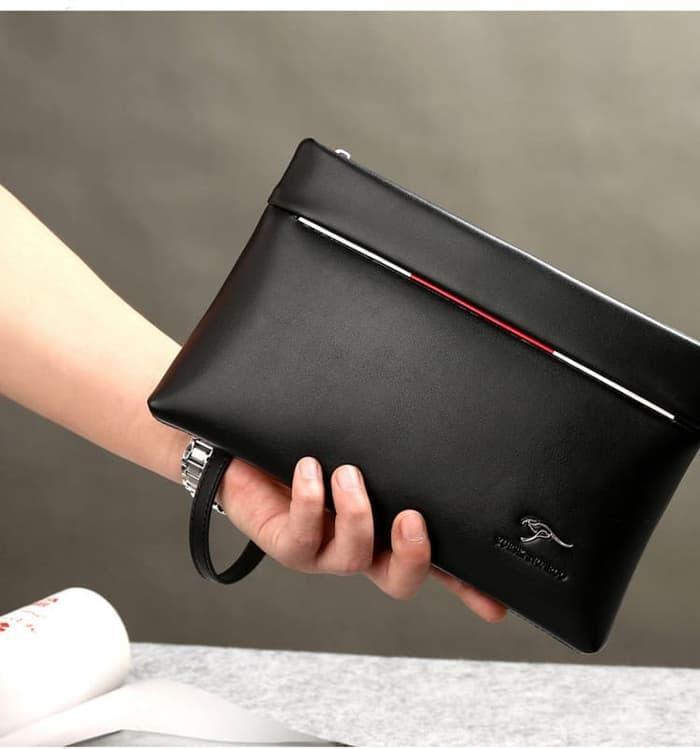 Murah Tas Tangan Pria Wanita POLO Dompet Tangan Clutch Bag/Handbag -