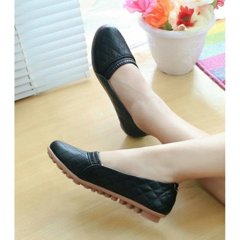 JUAL TERLARIS Sepatu Wanita Flatshoes Channel BLD04 c1ce549360