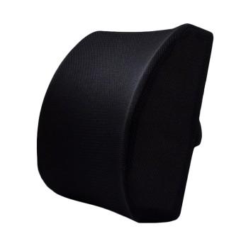 Comfort Memory Foam Kursi Kantor Mobil Sofa Seat Back Cushion Lumbar Support Bantal dengan Dual Adjustable