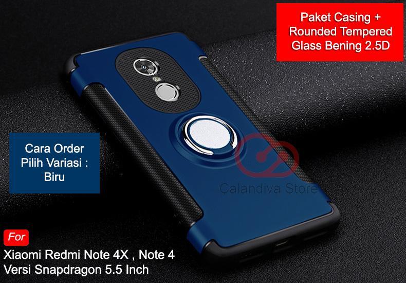 Calandiva Case Xiaomi Redmi Note 4X , Redmi Note 4 versi Snapdragon (5.5 Inch)