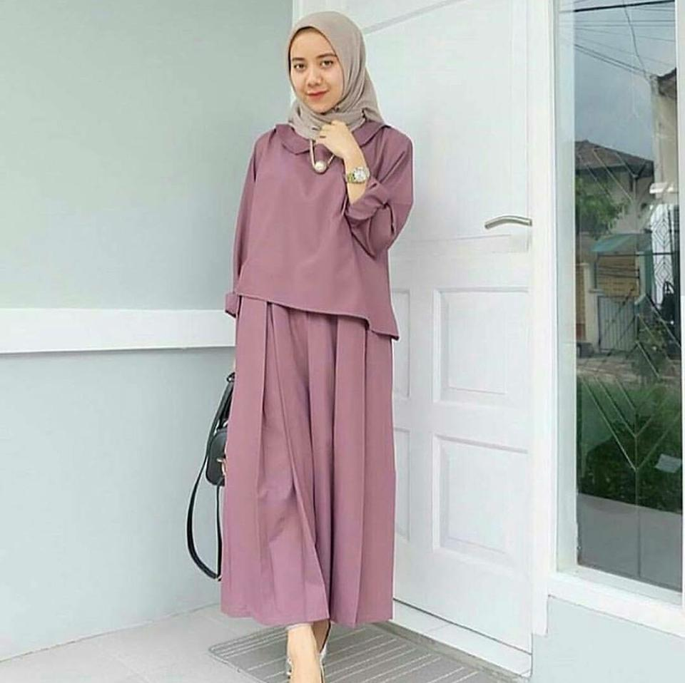Dress Zaitun Maxi // Busana Muslim Wanita MC220 Zaitun Maxi // Maxi Dress /