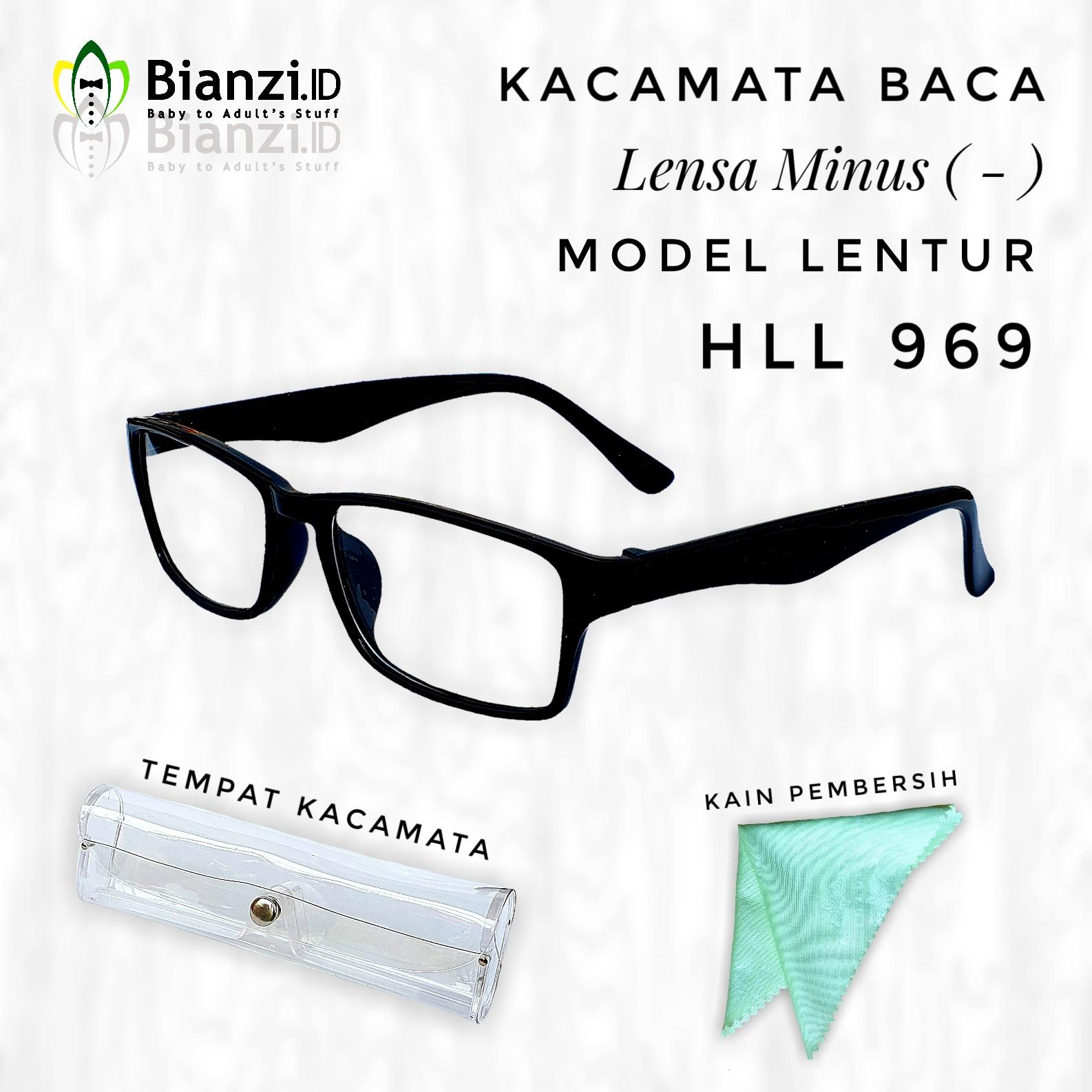 Kacamata Baca Minus ( - ) Model Kotak HLL969  08ff8fd402