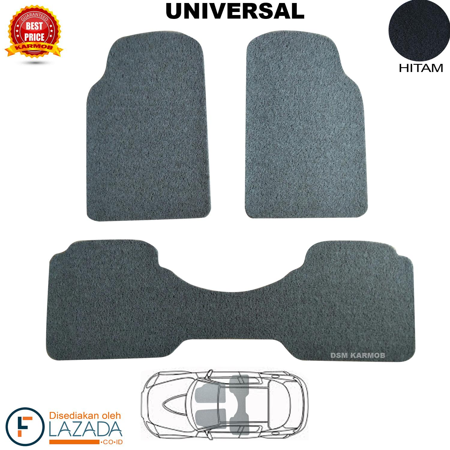 Universal Car Floor Mat Carpet Karpet Mobil 972 Hitam Update Mercedes Benz Sprinter Comfort Deluxe 12mm Full Set Karmob Mie Bihun Aksesoris