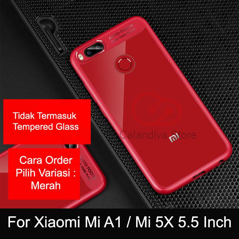 Calandiva ONE-X 2.5D Rounded Tempered Glass for Xiaomi Mi A1, Mi 5x