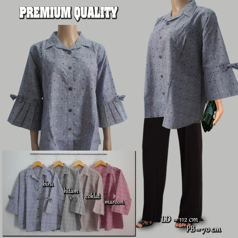 F&G Baju Atasan Wanita / Blouse Kotak Verita - Premium Quality (Jaminan Kualitas)