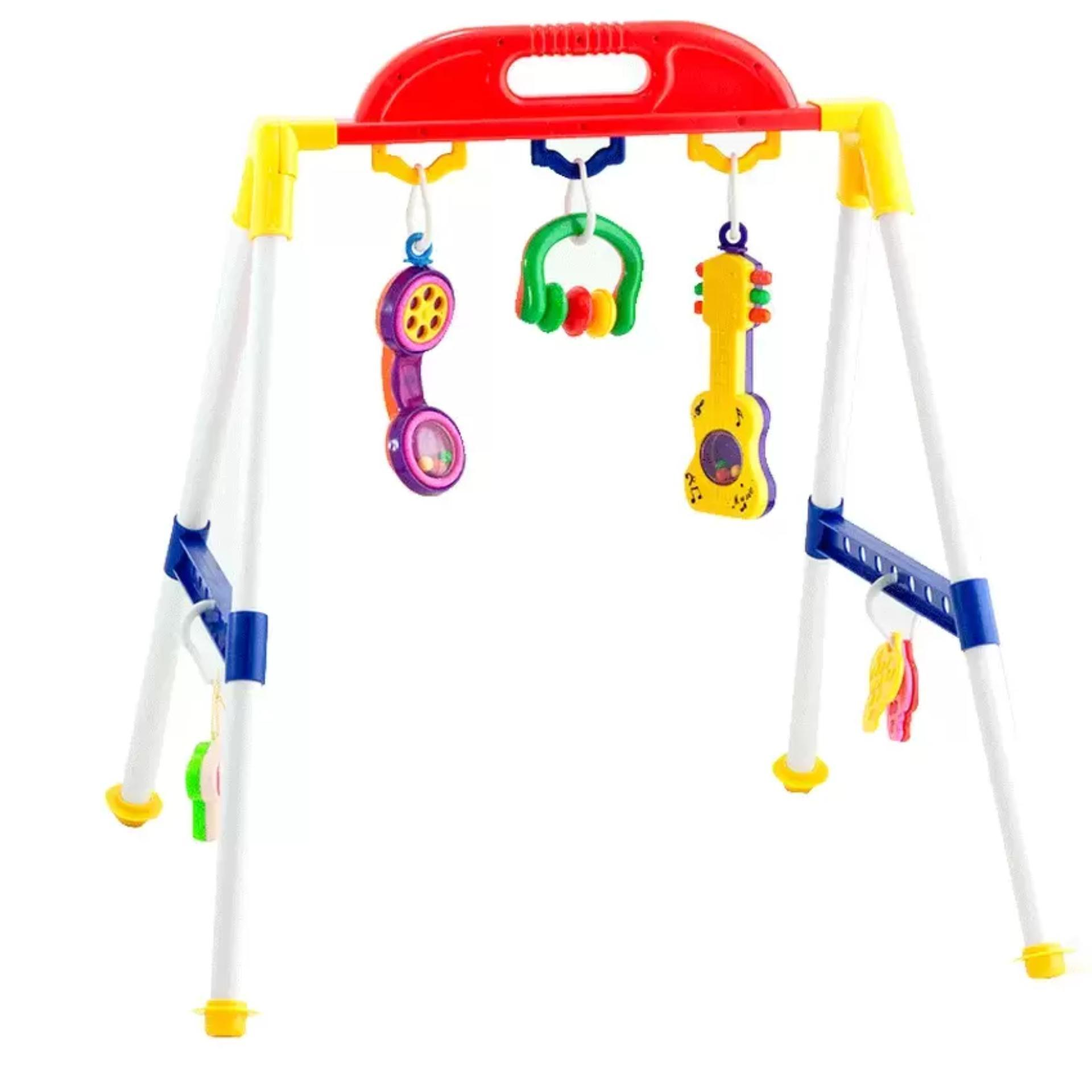 MOMO Toys Activity Rattle Playgym 209 AB - Mainan Baby Rattle Play Gym | Lazada Indonesia