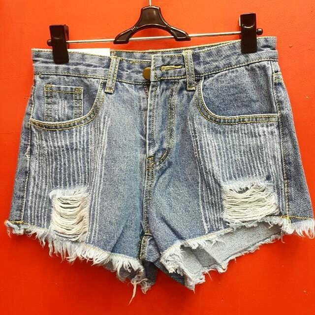 Stelan Celana Plus Blouse Murahstelan Celana Plus Blouse Babyterry ... - Hotpants Wanita 8808