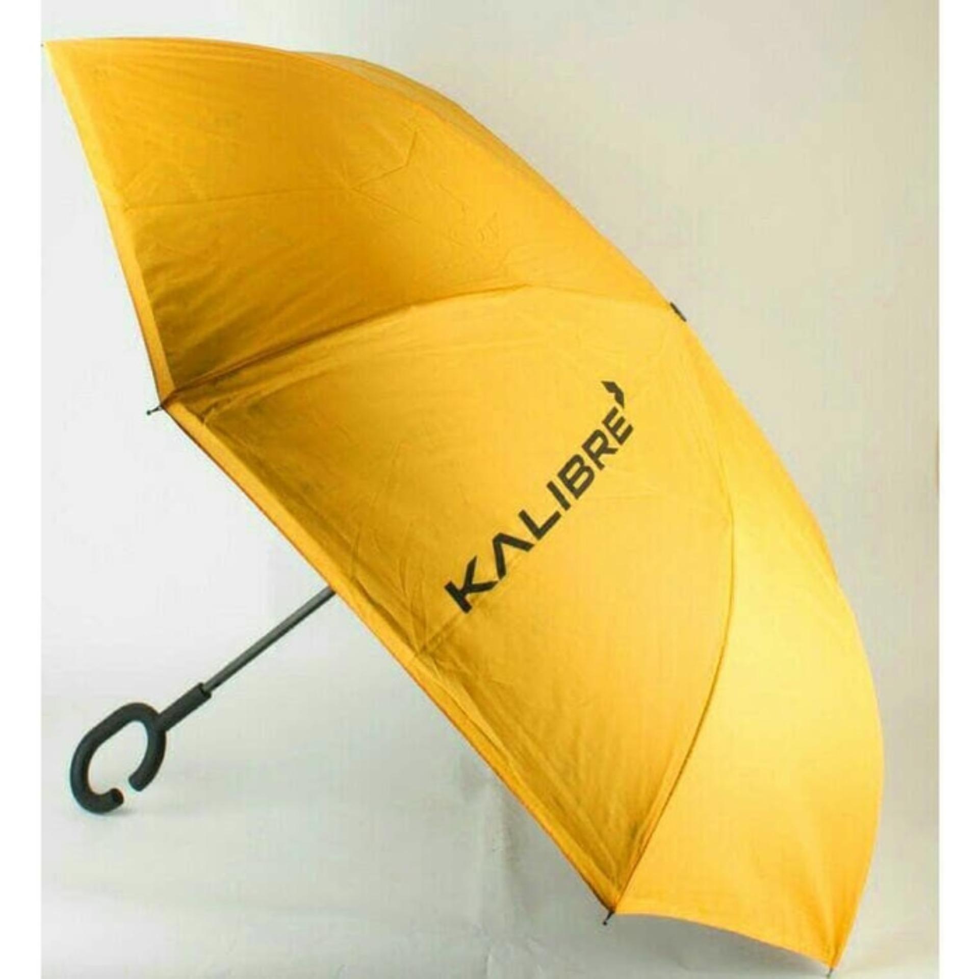 Kalibre Umbrella Payung Besar Diameter 150 Cm Hujan Waterproof Anti Kuning Air Uv 995036 770 Kazbrella Terbalik Inverted Yellow 110