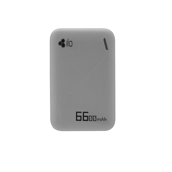 PowerBank ILO F2 6600mAh - Hippo PowerBank ILO F2 6600mAh - Grey