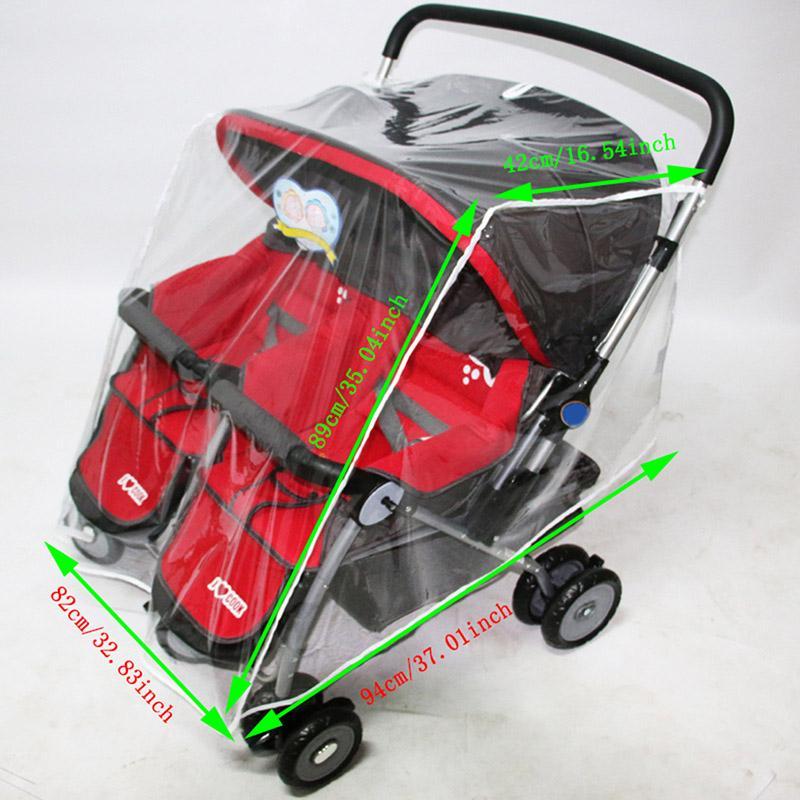 นี่คืออันดับ1 Unbranded/Generic อุปกรณ์เสริมรถเข็นเด็ก ที่บังฝนรถเข็นเด็กกันน้ำเด็กรถเข็นรถเข็นเด็กแฝดที่บังฝนรถเข็นเด็กรถเข็นคู่อุปกรณ์เสริม - INTL รีวิวดีที่สุด