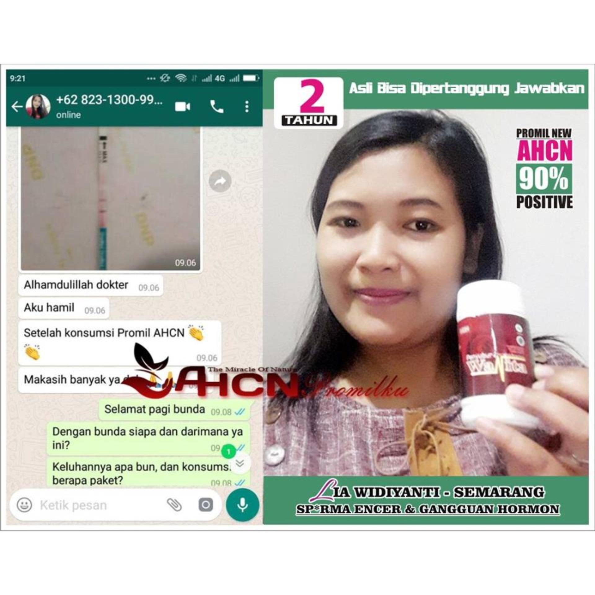Obat Penyubur Kandungan Wanita Sperma Air Mani Pria Ahcn Paket Pengental Penambah Agar Cepat Hamil Dan Punya Anak Mandul