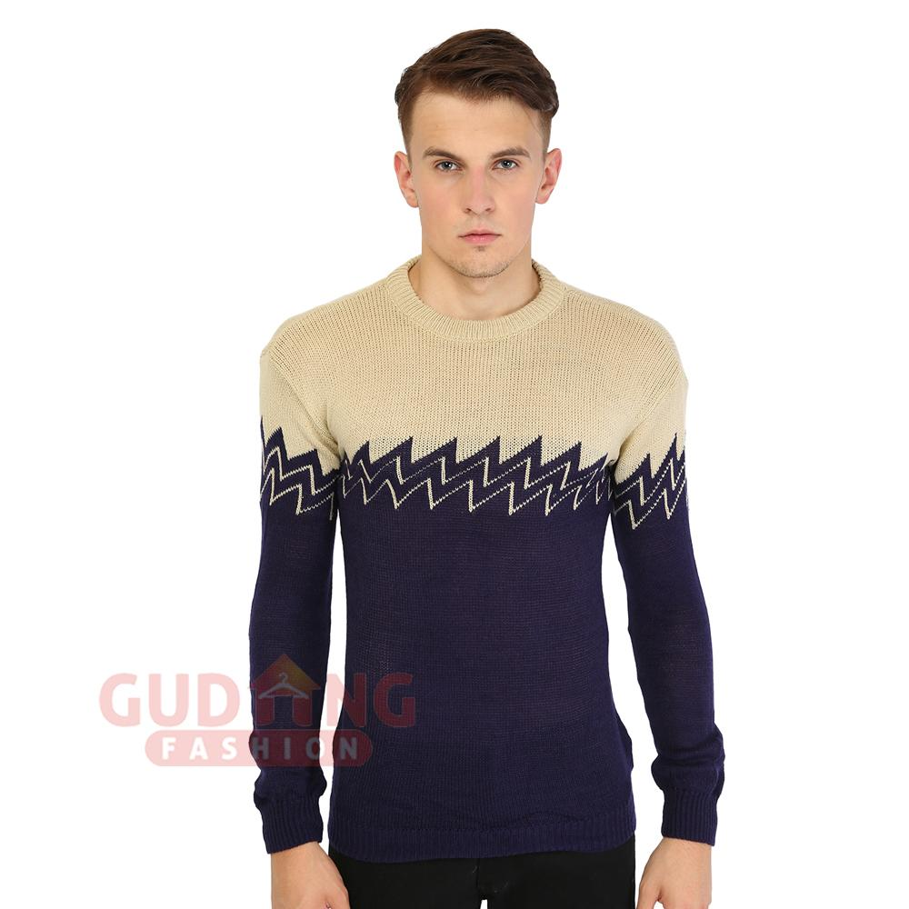 Gudang Fashion - Sweater Ariel Noah - Abu-abu Muda-Hitam | Lazada Indonesia
