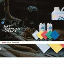 SPESIALMURAH!!  PAKET PEMBERSIH INTERIOR MOBIL, Cleaner, Semir Ban, Lap Microfiber dll