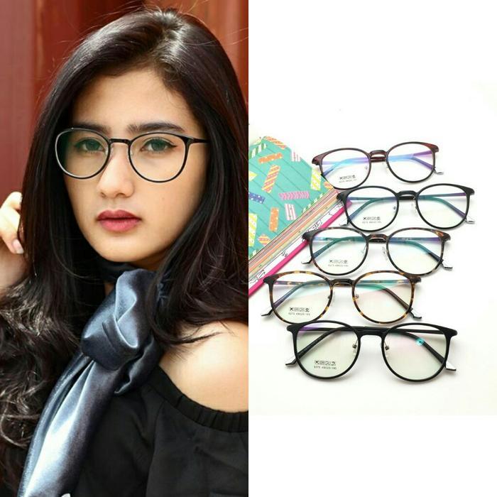 DISKON Frame kacamata pria wanita korea 6275 lentur gaya fashion trendi  TERMURAH 7133bb3b7d