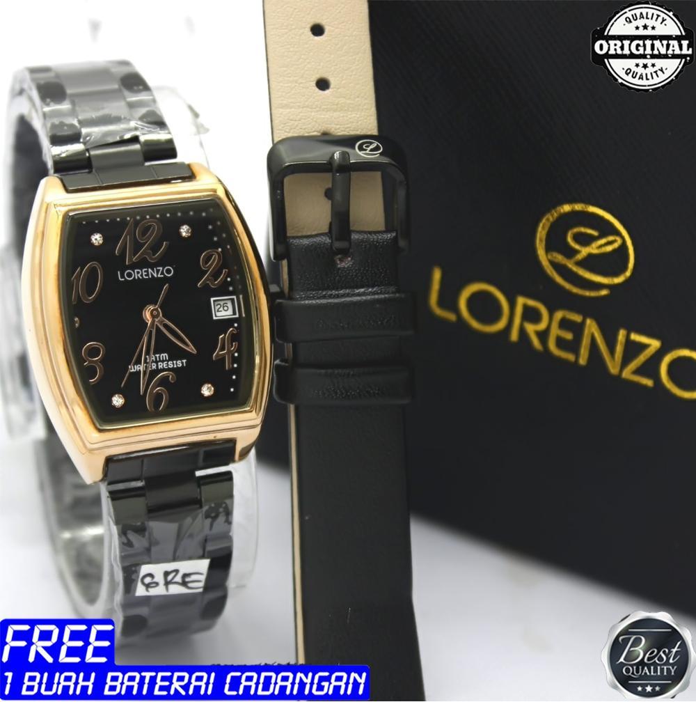 Fashion Lorenzo Daftar Harga Desember 2018 Jam Tangan Couple Lux Zeca 310 Original