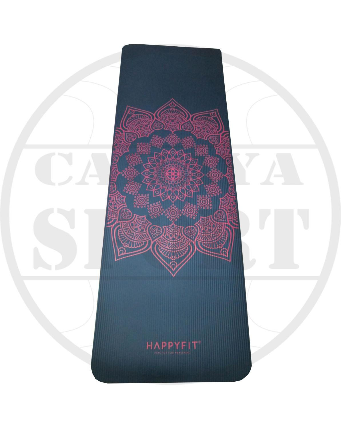 matras yoga HAPPY FIT motif
