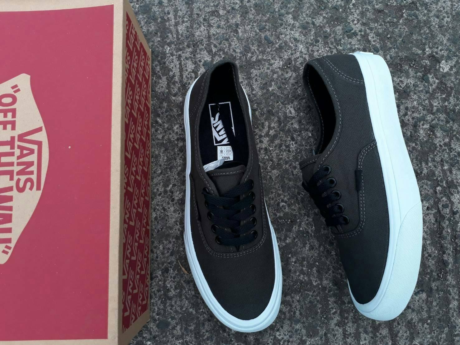 sepatu vans authentic mono dark grey waffle IFC premium BNIB 2fd003b6d0