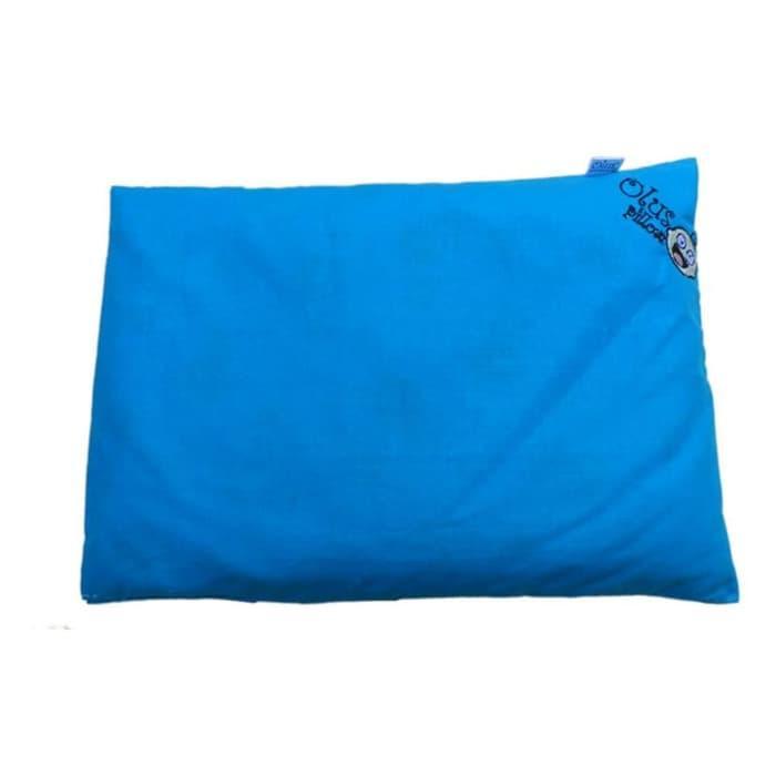 Rp100.000Olus Pillow (Bantal Kesehatan Bayi. Anti Kepala Peyang) - Biru.