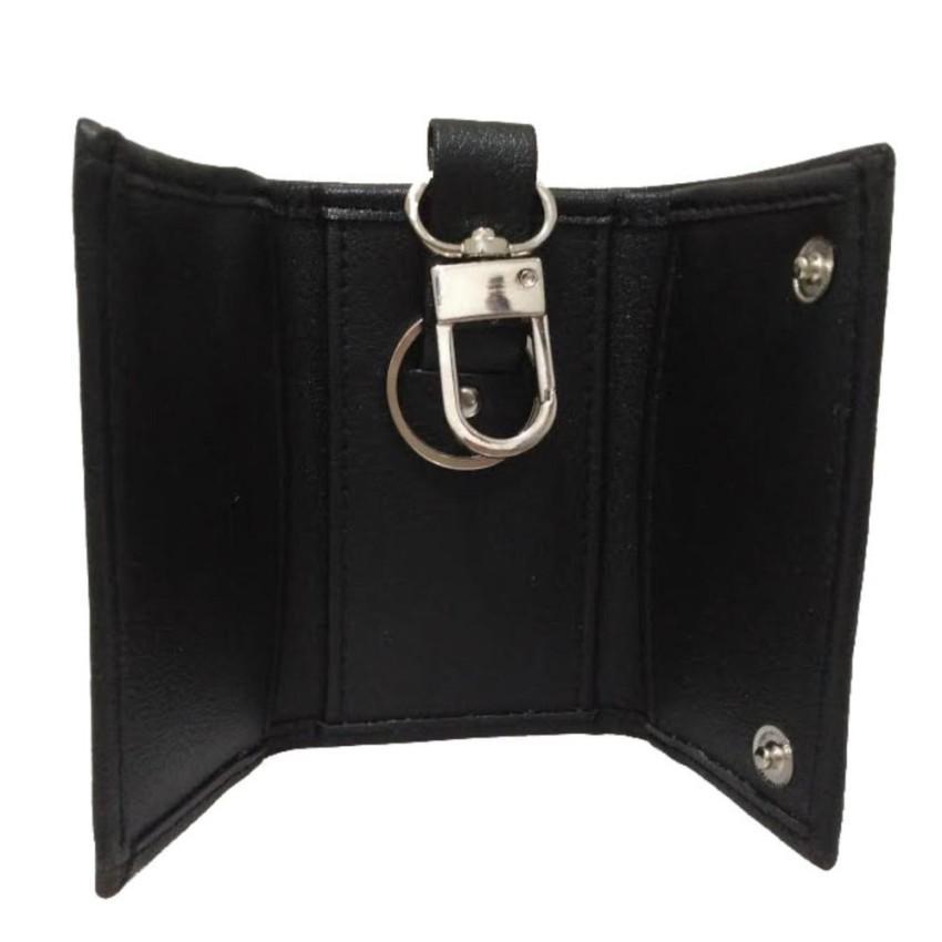 Dompet STNK - Gantungan kunci Mobil / Motor Motif Jeruk Braaun Buff - PU Leather - Black | Lazada Indonesia