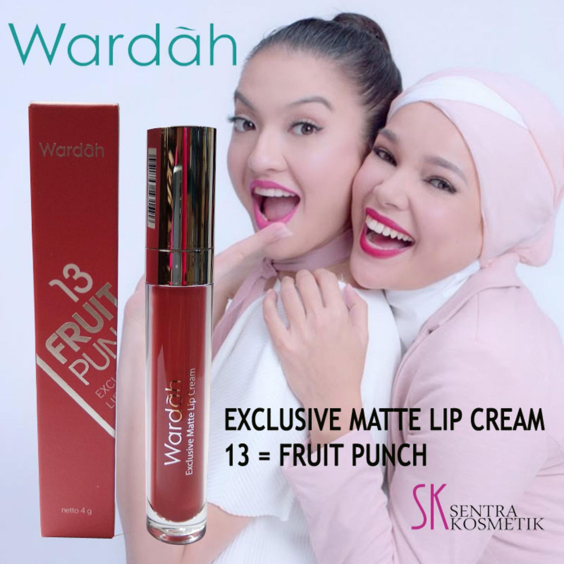 Wardah Exclusive Matte Lip Cream No 14 My Honey Bee Lazada Indonesia Original Cair