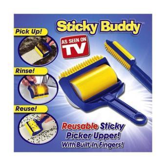 Sticky Buddy Pembersih Debu/kotoran/bulu Pada Sofa/karpet/pakaian