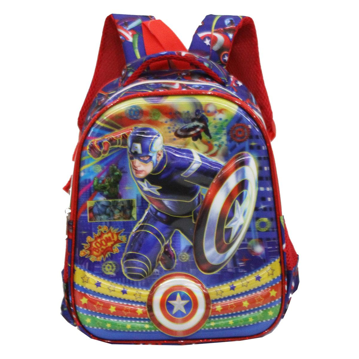 Onlan Avengers Super Hero 6D Timbul Tas Anak Sekolah Ransel TK & PG .