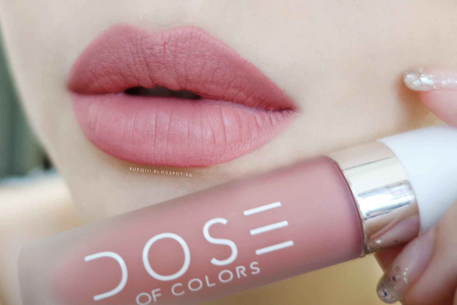 Dose of Colors Lipstick Matte Barre