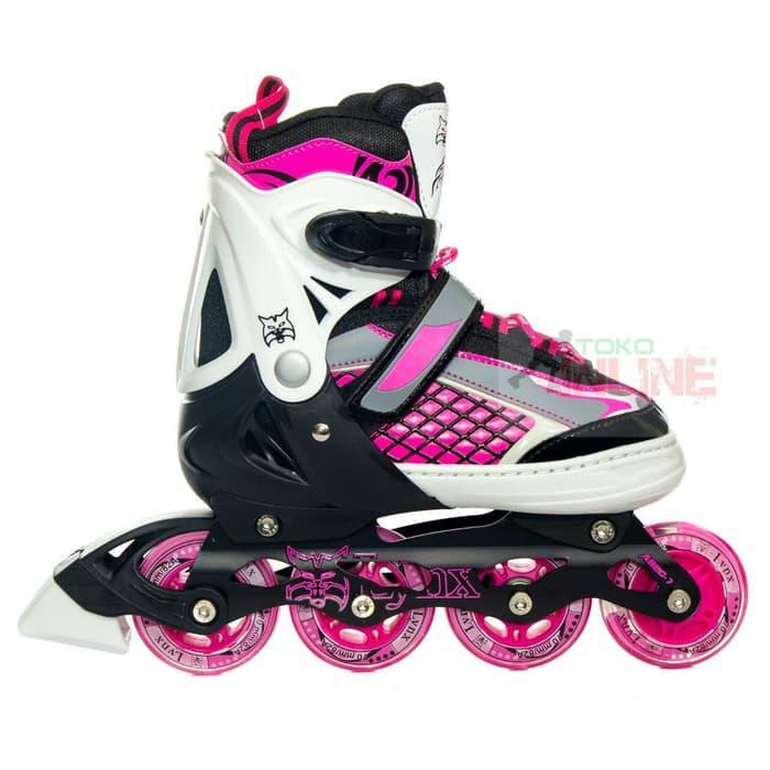 PROMO Sepatu Roda LYNX R55 Pink Black Recreational Inline Skate 027cc7d7f6