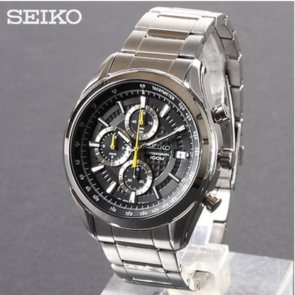Seiko Prospex Jam Tangan Pria Stainless Steel Sun049p1 Hitam Mens Skz285k1 Skz285 Black Automatic Chronograph Tali Ssb173p1 Source Quartz Ssb175p1