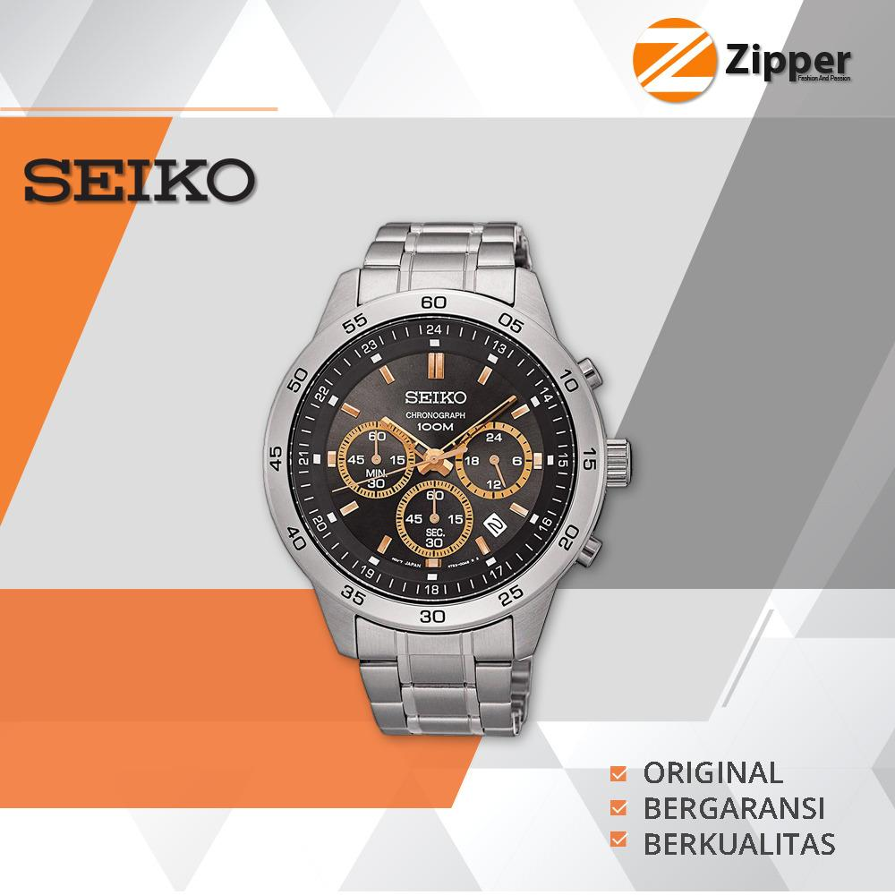 Seiko Chronograph Jam Tangan Pria - Tali Stainless Steel - SKS515P1   Lazada Indonesia