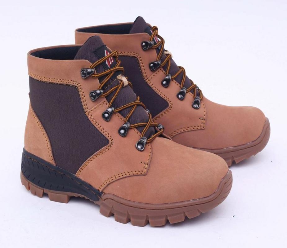 DISKON 48% DIPERPANJANG - Gratis Ongkir - Bisa COD - Garsel Shoes Sepatu  Boots Pria e670274030