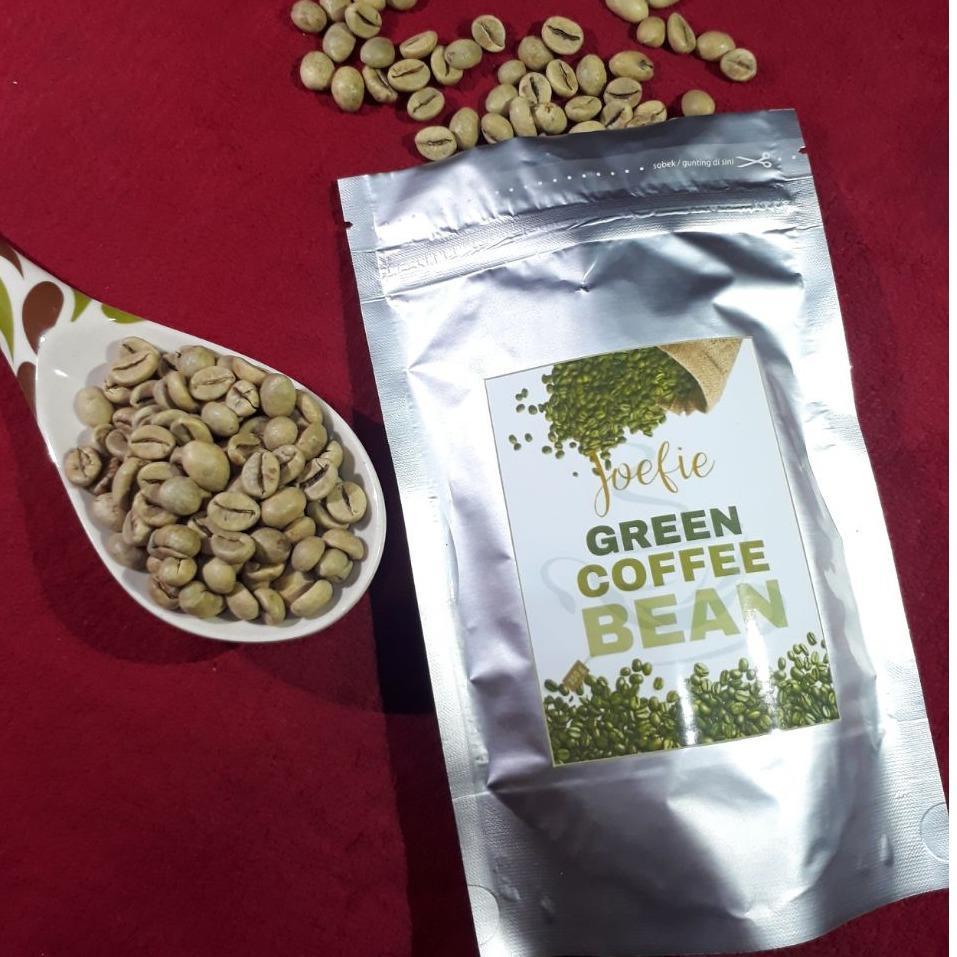 My Green Coffee Powder Kopi Hijau Bubuk Organik Alami 200gr 100gr Defoya Bean Joefie