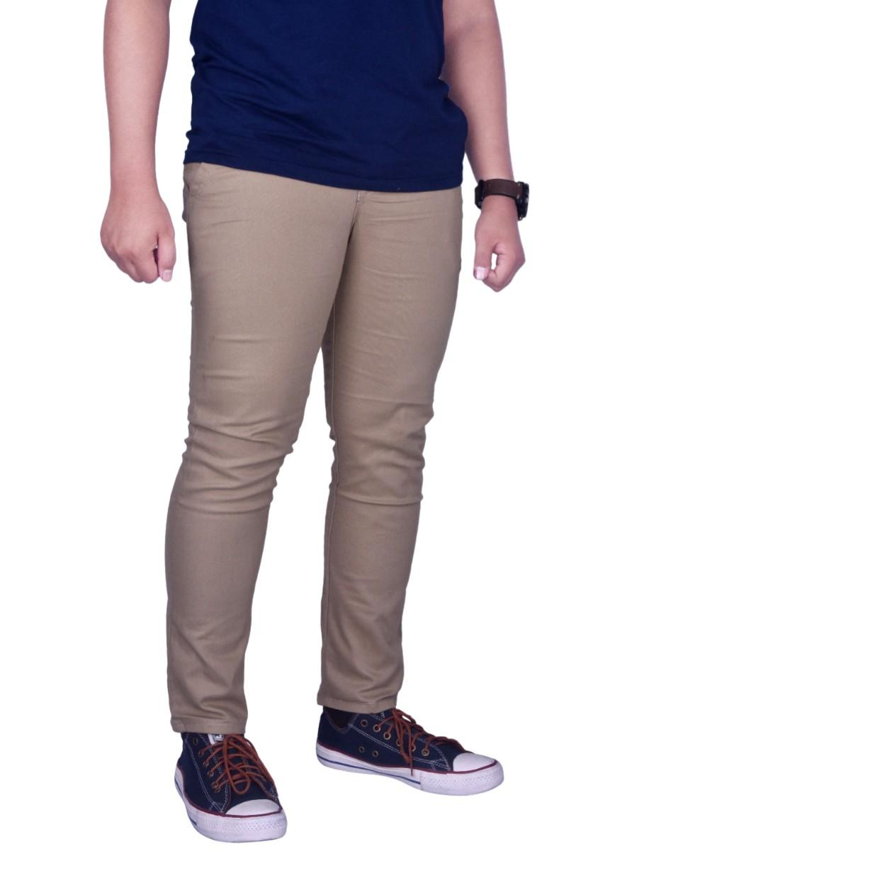 Dgm_Fashion1 Celana Chino Best Seller Polos Cream Panjang/Celana Panjang Chinos/Celana Chino Import
